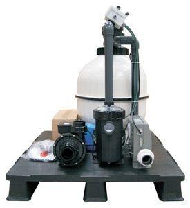 Kompakt Sandfilteranlage Technikpaket